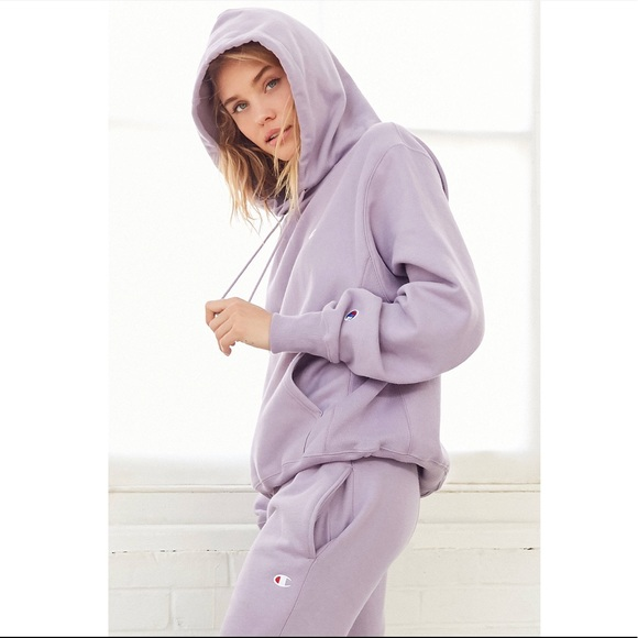4ebc843a944a Champion Tops - Urban Outfitters Champion Lavender Hoodie Set